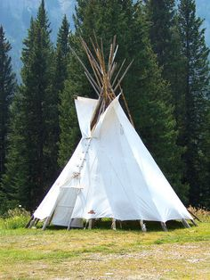 Cooke City Teepee, Montana' by teresue, via Flickr
