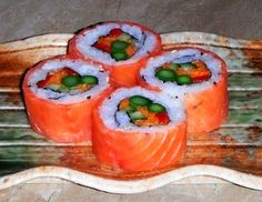 How to make Sushi rolls website