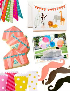 Vintage carnival / circus party ideas