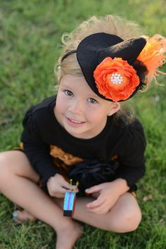 witches hat headband