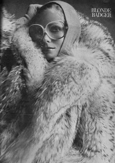 Awesome Old Fur Coat Ad