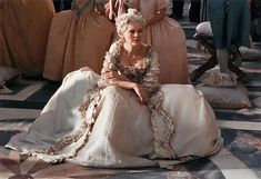 Still from the filming of 2006 Marie Antoinette movie