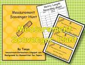 FREE! Measurement Scavenger Hunt