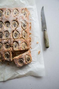 Buttermilk Banana Tray Cake - Cook Republic