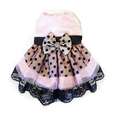 Dog Party Dress- I think Punky needs this...