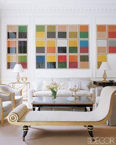 Color studies by Günther Förg.