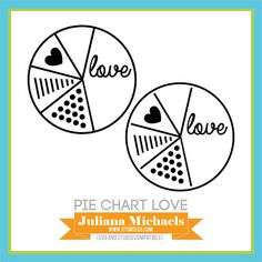 Pie Chart Love | Free Cut File