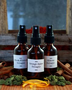 Recipes for 6 perfumes.