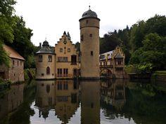 Mespelbrunn castle, Germany: 1st castle I visited when I was stationed in Aschaffenburg!