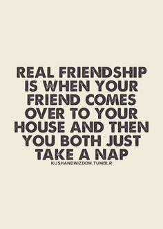Nap Time rocks, Angie and Lynn and Hannah and I used to do this... oh how I miss college some days