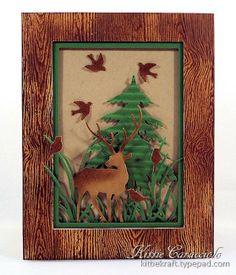 KC Impression Obsession Deer Trio 7 center