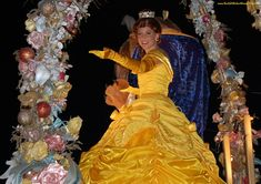 Where to see Belle, from Beauty and the Beast, at Disney World.  See: http://www.buildabettermousetrip.com/princess-belle-at-disney-world