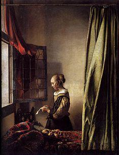 Johannes Vermeer - Girl Reading a Letter