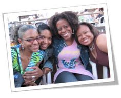 Linda Duggins, Felicia Pride, Karen Thomas, & Gilda Squire  Enjoying the 2009 Black Pack Party