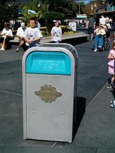 In Walt Disney World, you are never more than 30 steps away from a garbage can. This is to help promote the parks' cleanliness.