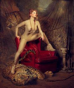 The tamed tapestry by Miss Aniela, via Flickr