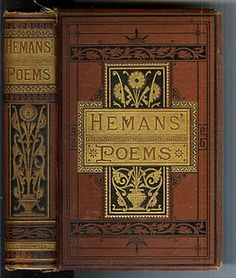 The Poetical Works of Mrs. Hemans Late 1800's