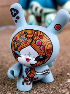Junko Mizuno dunny - Kid Robot - I wish I could have all of these!!