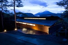 Exquisite Modern Home in Japan Neighboring the Asama Volcano
