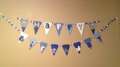 Happy Birthday banner (by Megan Loctor)