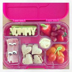 A simple but tasty #Yumbox from @munchbox_mini  Yumbow will be available in the UK and Ireland from late June 2014, via www.yumbox-uk.co.uk lunchbox