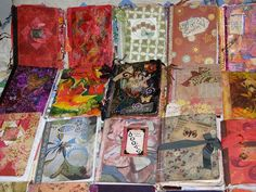 Image detail for -Books: Traded or Swapped - art junque visual journals gluebooks art ...