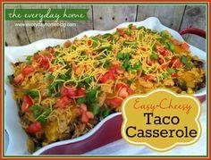 easi taco, taco casserol