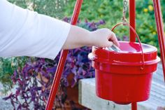 New spin on the Salvation Army's Red Kettle.