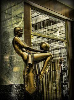 Art Deco.(In Prague)