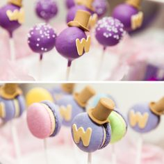 Willy Wonka Pops - these are too stinkin' cute!