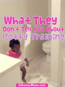 potty training tips from 2groovymoms.com