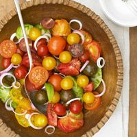 BHG's Newest Recipes:Tomato and Red Onion Salad Recipe