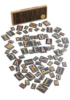 to the letterpress magnet set - #modcloth fun