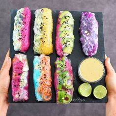 Vegan summer rolls -