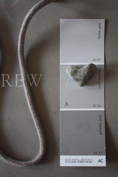 Grey color for bathroom