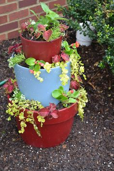 Stacked Flower Pot