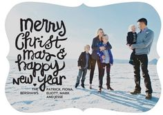 Having trouble choosing your #Christmas card? Tiny Prints blog shares some simply chic #Holiday cards.