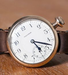 """Vintage Trench Watch """"1912 Franklin"""" 