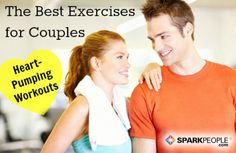 Workout Ideas for Couples | via @SparkPeople #fitness #exercise #motivation train blog, ax nutrit, fitness exercises, workout ideas couples, workout exercis, fun workout, couples workout together, fitness couples workouts, coupl workout
