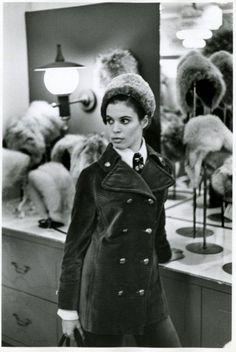 1960s fashion. jacket, hats, shop, houses, queen, 1960s fashion, suit, hat display, coat