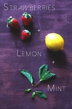 beauti idea, juic, food, detox drinks, strawberries detox