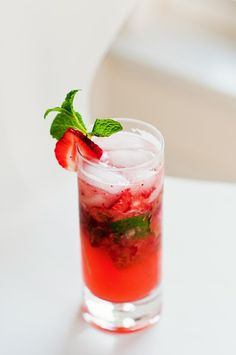 strawberry mojito | a cup of mai