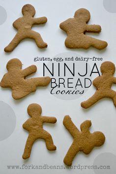 Gluten-free, vegan gingerbread men cookies - Fork & Beans