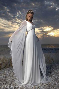 Butterfly Wedding Dress :)