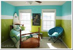 Roxy Girl Room Makeover -- Sand and Sisal