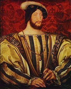 """""""Francois 1 of France [1535] Jean Clouet"""