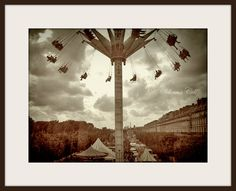 Paris Photography Living in the Air  15x20cm Fine by selenescell, €12.00
