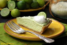 Key Lime Pie (Raw, Grain Free, Vegan)  #PrimallyInspired