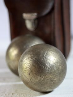 #Petanque French Boules