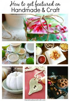 Looking for a way to promote your blog? Submit your post to be featured on Handmade & Craft! We are taking submissions for recipes, craft tutorials, holiday entertaining, decorating, DIY home decor and handmade wedding ideas. All the posts are shared with a thousand and thousand {like over 200,000} on social media and on HandmadeandCraft.com.…   [read more]